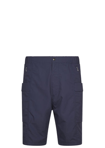 SS17 Micro Polyester Taffetta Wind Shorts in Navy