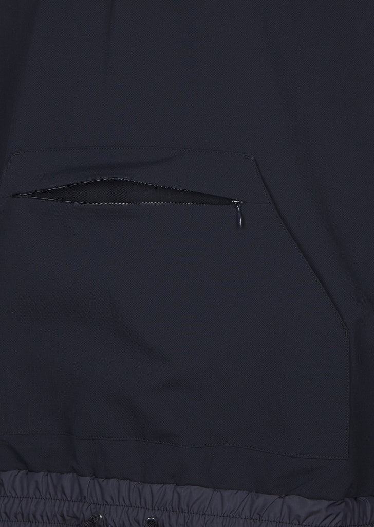 SS17 Alphadry Stretch Cloth Smock in Navy
