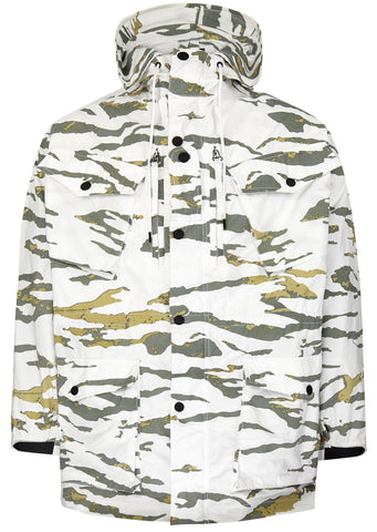 SS17 Camo Cargo Smock in Foret