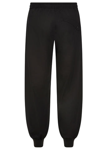 SS17 Loose Trackpants in Black