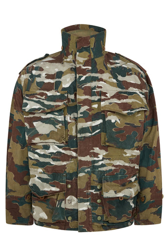SS17 Congo Smock Jacket in Camouflage