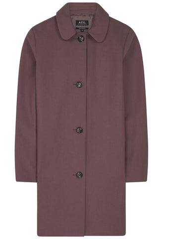 SS17 Doll Coat in Blueberry