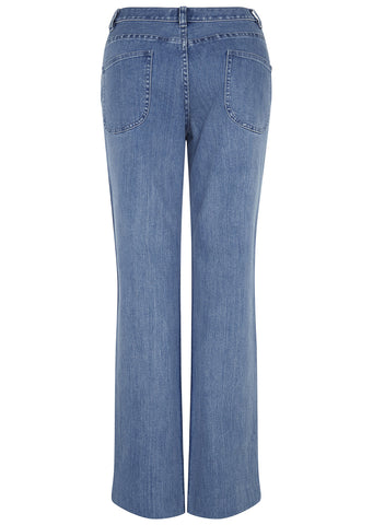 SS17 American Denim Flare Pants in Indigo