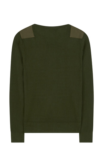 SS17 Military Joe Knit in Green