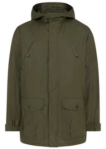 SS17 Guillaume Technical Cotton Parka in Khaki