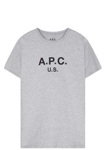 SS17 Made In The USA Logo T-shirt in Grey