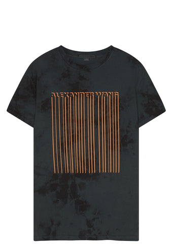 SS17 Tie-Dye Barcode T-shirt in Black