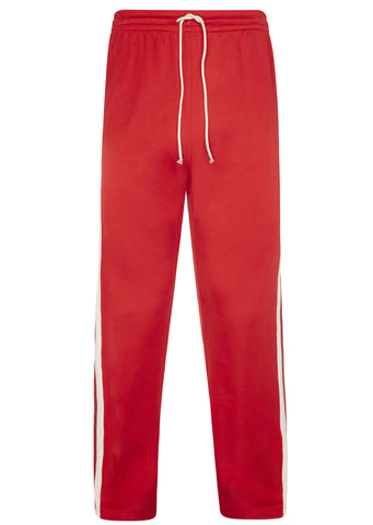 SS17 Jersey Track Pant in Red