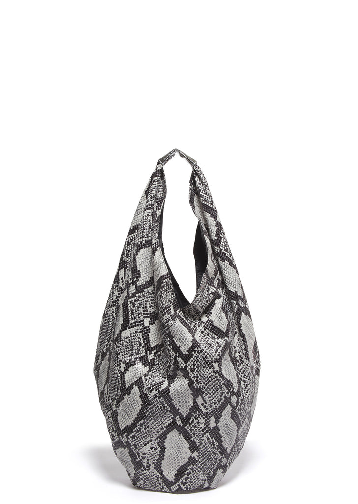SS17 Maison Margiela Printed Python Japanese Bag in White