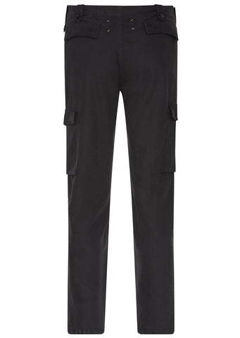 SS17 Military Pants in Black