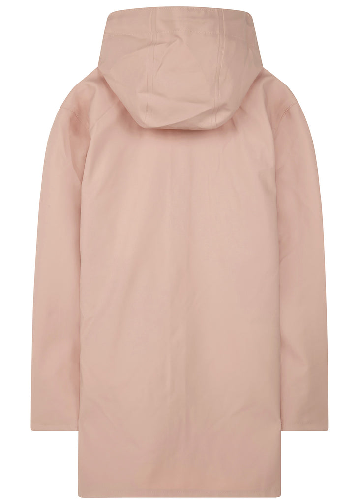 SS17 Stockholm Mid Length Raincoat in Pale Pink