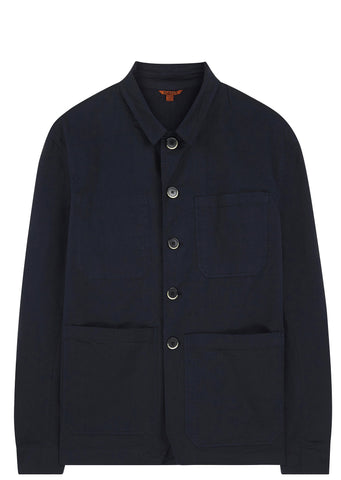 SS17 Pasubio Gabardine Workwear Jacket in Navy