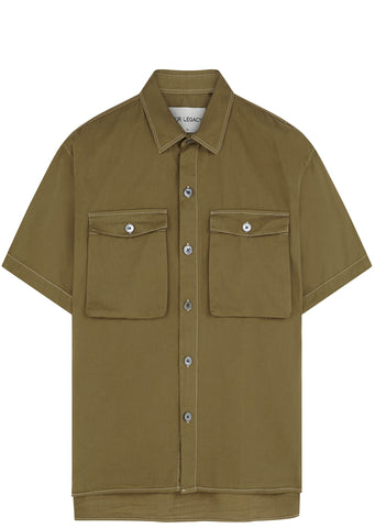 SS17 Light Drill Uniform Shirt in Khaki
