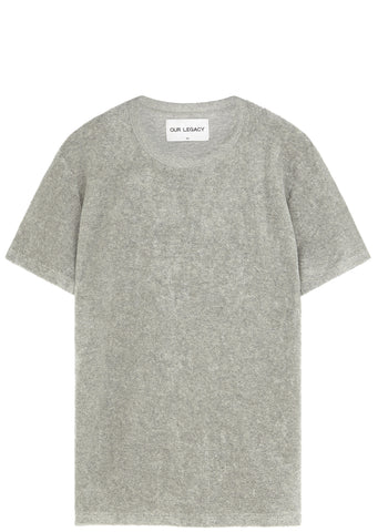 SS17 Terry Perfect Tee in Grey Melange