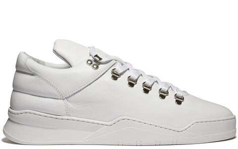 SS17 Mountain Cut Ghost Sneaker in White