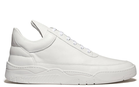 SS17 Low Top Monotone Space Sneaker in White