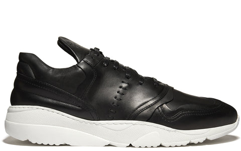 SS17 OC Runner Multi Layered Sneaker in Black