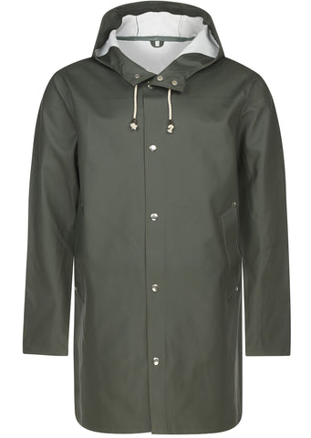 SS17 Stockholm Raincoat in Green