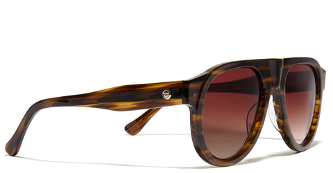 AW17 Duke Sunglasses in Feather Brown