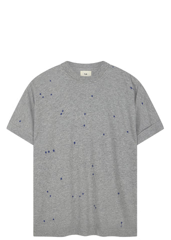 SS17 Microdot T-Shirt in Light Grey Mélange