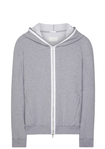 SS17 J48-BR Hooded Sweatshirt in Grey