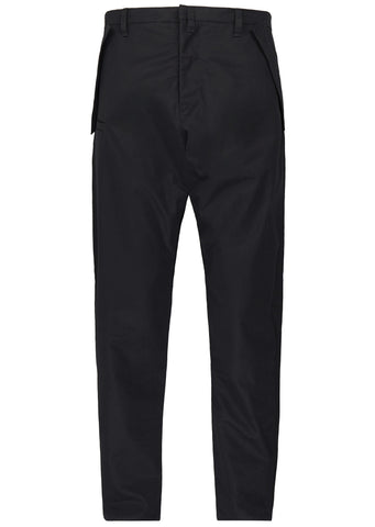 SS17 P24-S HD Gabardine Articulated Trousers in Black