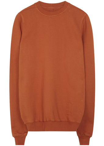 SS17 Patch Crewneck Sweatshirt in Orange