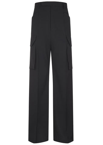 SS17 Viscose Trousers in Black