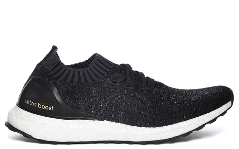 SS17 Ultra Boost Uncaged Sneaker in Core Black/ Multicolour Speckle