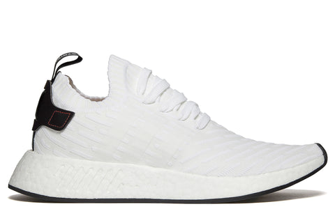 AW17 NMD R2 Primeknit in Footwear White / Core Black (BY3015)