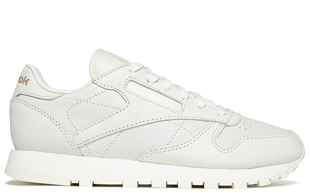 AW17 Classic Leather FBT Suede in White / Rose Gold (BS6591)