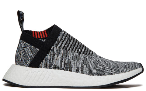 AW17 NMD R2 Primeknit in Core Black/Future Harvest (BZ0515)