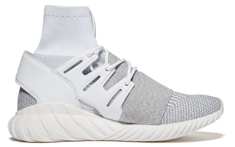 AW17 Tubular Doom Primeknit in White (BY3553)
