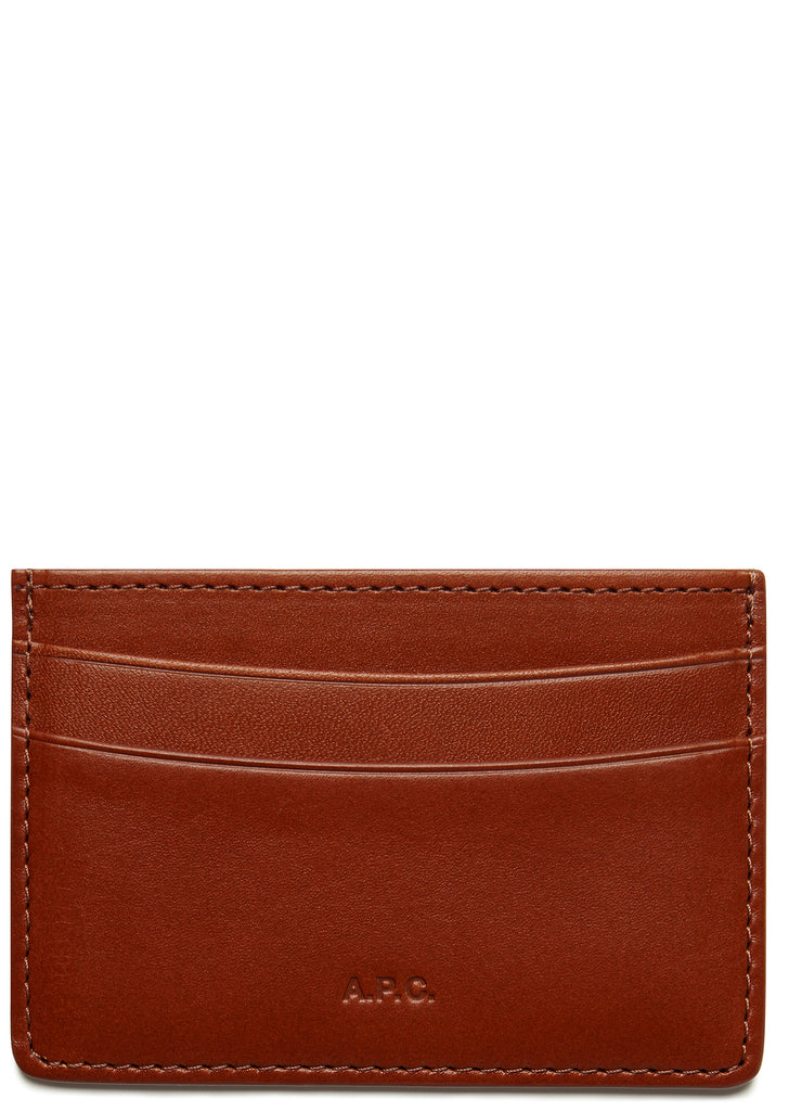 AW17 Andre Card Holder in Whiskey