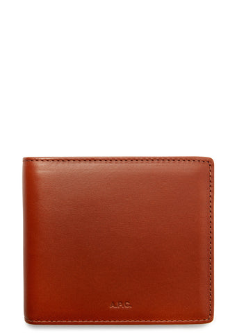 AW17 Aly Leather Wallet in Whiskey