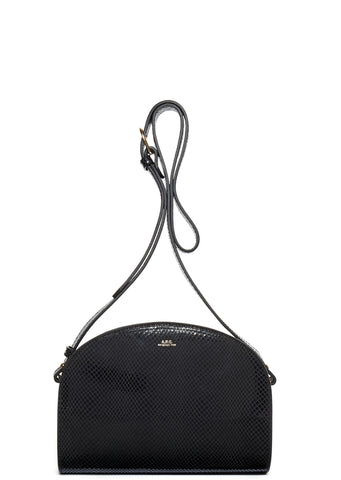 AW17 Half Moon Bag in Black