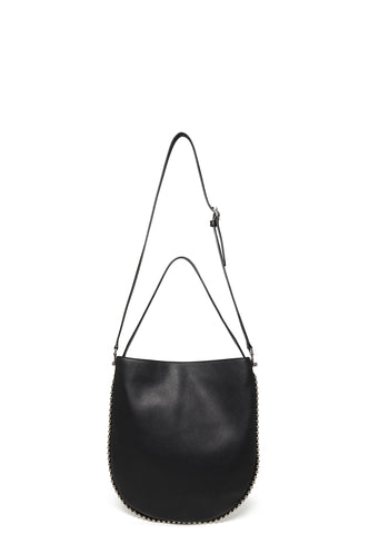 Roxy Hobo Black Refined Pebble in Black