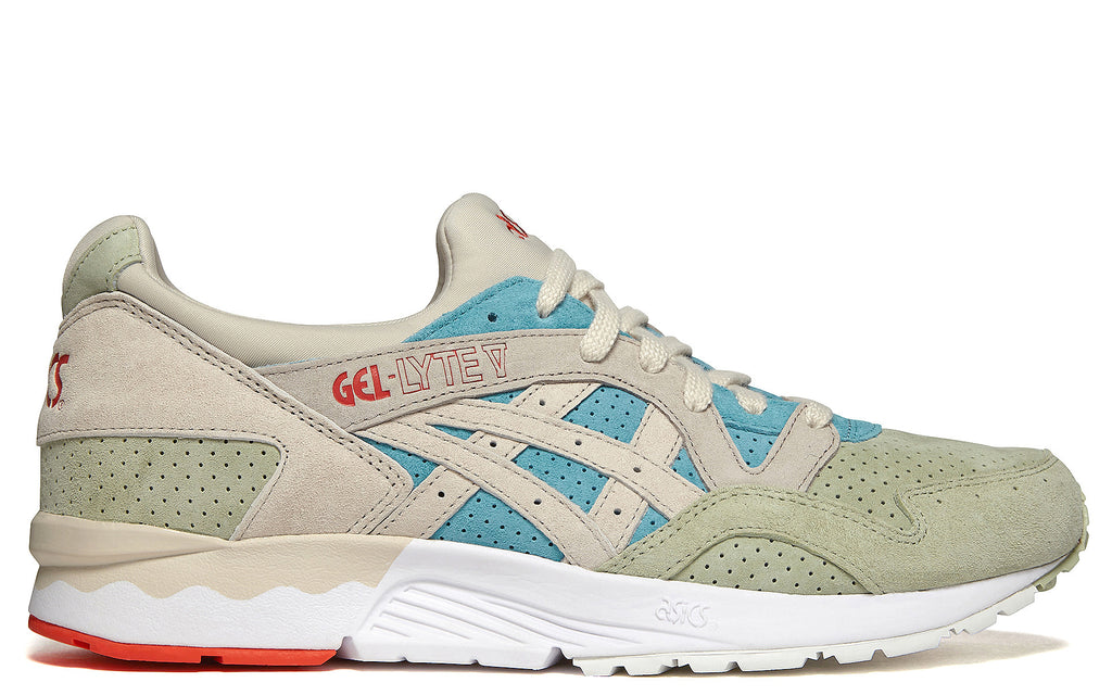 Gel Lyte V in Reef Waters and Birch