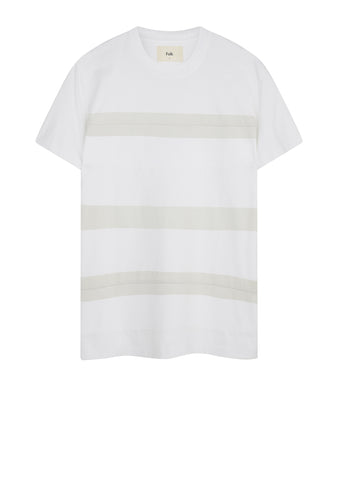 AW17 Overlap Tee in White