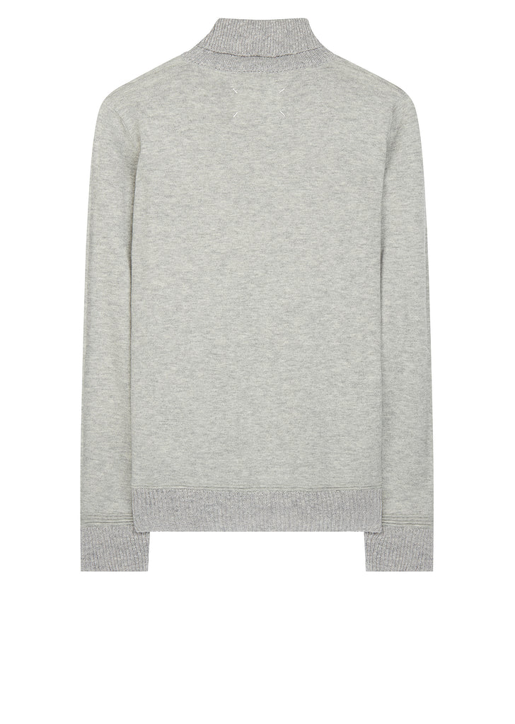AW17 3D Roll Knit in Light Grey