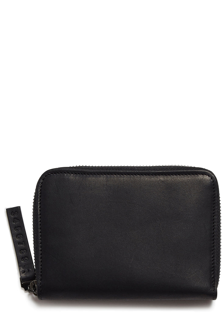 AW17 Classic Leather Wallet in Black