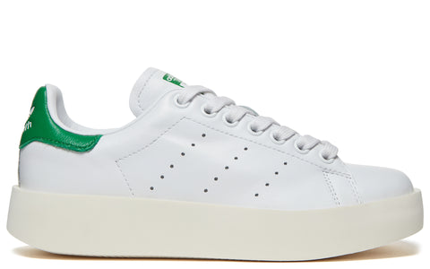 AW17 Stan Smith Bold in White/Green (S32266)