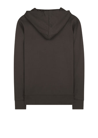 AW17 Classic Logo Pullover Hoody in Dark Olive