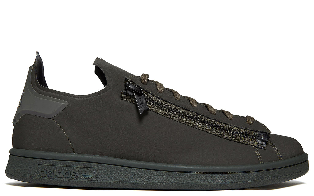 Triple Olive Stan Smith Zip Sneaker