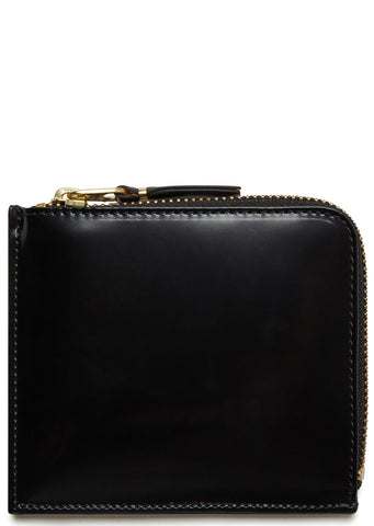 AW17 Mirror Wallet in Black Gold
