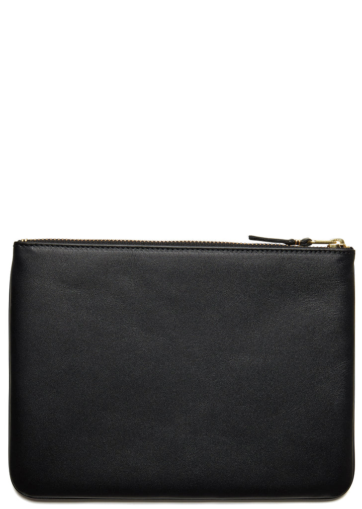Classic Leather Pouch in Black