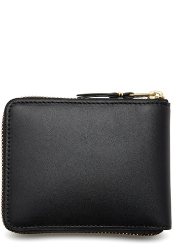 AW17 Classic Zip-Around Wallet in Black