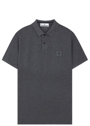 SS17 Short Sleeve Polo Shirt in Grey