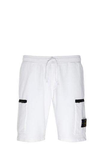 SS17 Sweat Shorts in White
