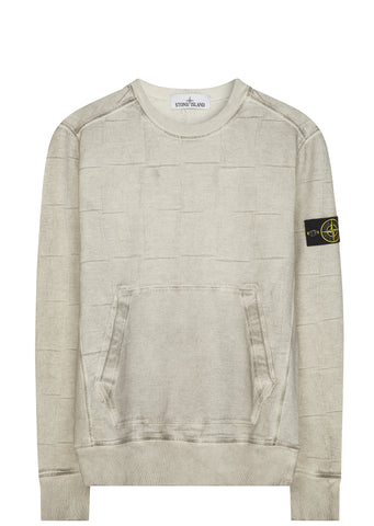 SS17 House Check Crewneck Sweatshirt in Grey